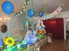 Frozen Fever Birthday Party Ideas   Photo 8 of 9   Catch My Party