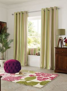 Latest Curtain Designs, Curtains Uk, Easy Crafts, Colours, Lime, Trends, Stylish, Heart, Floral