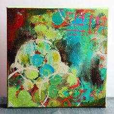 Circle Abstract I - Original Acrylic Painting