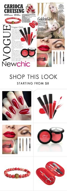 """#Newchic"" by kristina779 ❤ liked on Polyvore featuring beauty, polyvorefashion and polylove"
