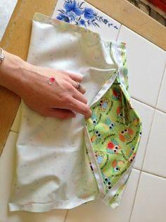 DIY Tutorial: Zippered Wetbag - Cloth Diapers - Diaper Junction