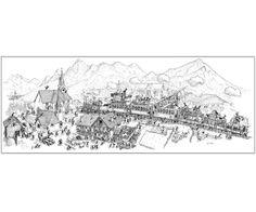 """Puzzle """"Trenino delle Dolomiti"""". #formiche #puzzle #train #treno #dolomiti #montagna #alps"""