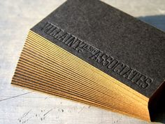 Lovely business cards.