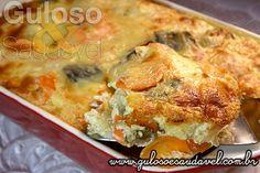 Torta de Legumes Sem Glúten » Receitas Saudáveis, Tortas e Bolos » Guloso e Saudável