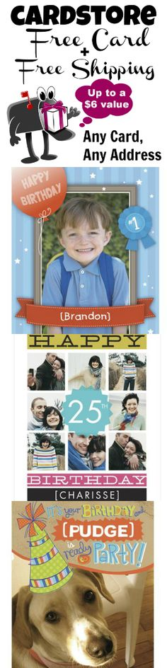 *HOT* FREEBIE zero is your total when you order a personalized card from Cardstore - free card plus free shipping http://freebies4mom.com/2012/09/21/cardstorefreebie/