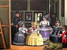 Klassische Gemälde in der Playmobil-Version   KlonBlog