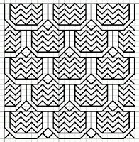 Blackwork Fill Pattern from Imaginesque.  Loads of great fills available...free, too.