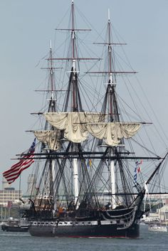 'Old Ironsides,' the USS Constitution, sails again in Boston Harbor (photo…