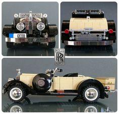 LEGO Rolls Royce Springfield Silver Ghost Roadster