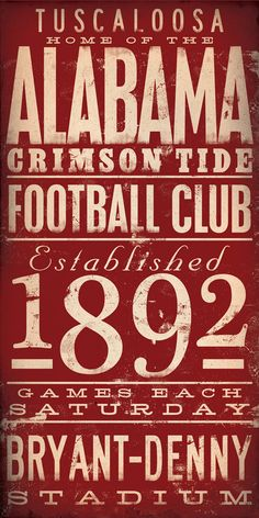 perf for any crimson tide fan.