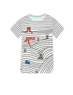 Pure Cotton Nautical Theme Print T-Shirt Years) Stylish Boy Clothes, Stylish Boys, T Shirt Painting, Fabric Painting, Baby Boy Swag, Paint Shirts, Love T Shirt, Nautical Theme, Sewing For Kids