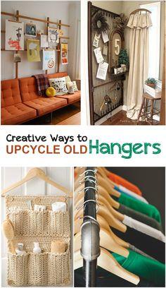 Creative Ways to Upcycle Old Hangers