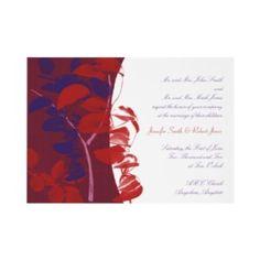 Red And Purple Wedding Invitations (Source: weddinginvitations100.com)