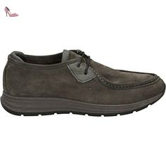 CafèNoir NEG912 Chaussures à Lacets Femme Cuir Noir 39 WcpZzu29bh