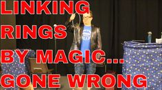 Magic Linking Rings Gone Wrong - Bristol Children's Entertainer Chris P ...