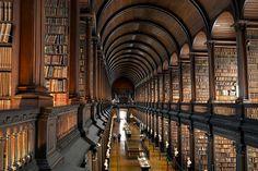 トリニティカレッジ図書館(アイルランド)