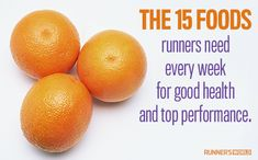The BEST foods for runners. Surprisingly I buy all this stuff on a weekly basis :)