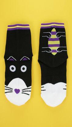Black Cat Socks  http://tprbt.com/black-cat-socks.html