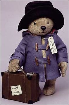 Paddington bear was my fav when I was little.. Hope for Eli to have some day!
