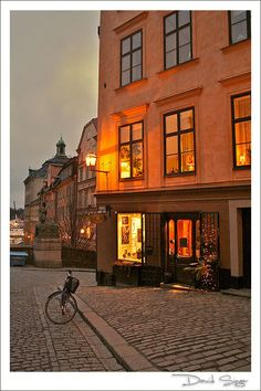 Evening in Gamla Stan