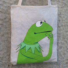 Rana Gustavo Tote Bag de Mr. Rancio! Ilustración por DaWanda.com