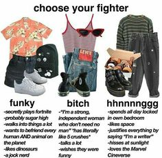 niche memes choose your fighter aesthetic funny Grunge Outfits, Grunge Fashion, Fashion Outfits, Grunge Clothes, Emo Clothes, Indie Outfits, Aesthetic Fashion, Aesthetic Clothes, Soft Grunge