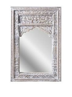 Uptown Down Small Carved Mirror, White, http://www.myhabit.com/redirect/ref=qd_sw_dp_pi_li?url=http%3A%2F%2Fwww.myhabit.com%2Fdp%2FB00HY6A0MQ