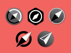 Compass Icon concepts #Play