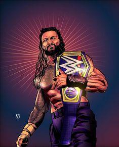 Roman Reigns Wwe Champion, Wwe Superstar Roman Reigns, Wwe Roman Reigns, Wrestling Posters, Wrestling Wwe, Roman Reigns Theme, Wwe Logo, Roman Regins, Wwe Elite