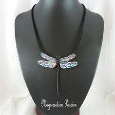 Turquoise, Rose, Polyester, Jewelry, Fashion, Pendant Necklace, Long Choker Necklace, Playing Card, Damselflies