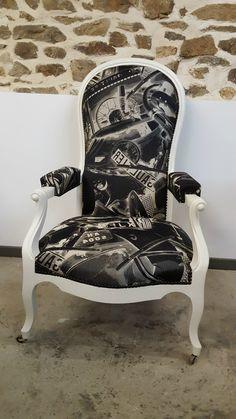tissus le male Jean-Paul GAUTHIER Jean Paul Gauthier, Le Male, Decoration, Pop Art, Armchair, Club, Furniture, Home Decor, Armchairs