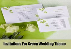 7 Unique Green Wedding Theme Ideas