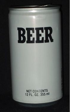 Generic beer, 1970's. All the generics used to be together in one aisle at the grocery store.