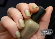 """Mani Makeover:  """"Textured Triangles"""" with Zoya Godiva + Essie Absolutely Shore"""