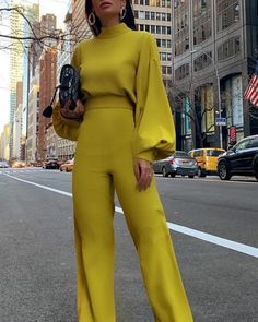 Ericdress Fashion Plain Full Length Slim Jumpsuit Fashion girls, party dresses long dress for short Women, casual summer outfit ideas, party dresses Fashion Trends, Latest Fashion # Mode Outfits, Chic Outfits, Girl Outfits, Office Outfits, Look Fashion, Autumn Fashion, Fashion Women, Celebrities Fashion, Cheap Fashion