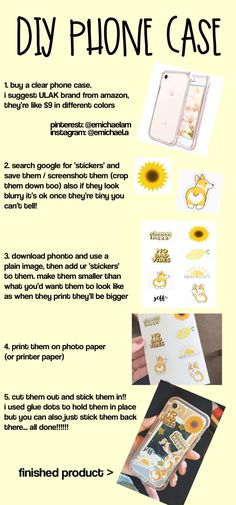 Diy sticker phone case for iphone. - Best of Wallpapers for Andriod and ios Diy Iphone Case, Iphone Phone Cases, Phone Covers, Iphone 6, Pink Iphone, Phone Diys, S8 Phone, Cellphone Case, Apple Iphone