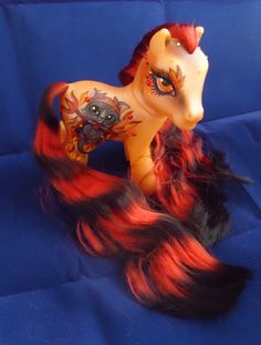 My little pony custom Halloween Elette by AmbarJulieta.deviantart.com on @deviantART