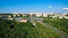 Киев - мой любимый город. Солнечный день на Борщаговке.