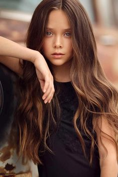 Female Models, Long Hair Styles, Beauty, Faces, Characters, Beautiful Little Girls, Girl Models, Long Hairstyle, Women Models