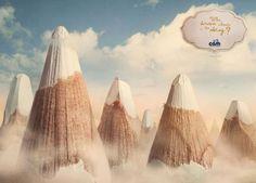 Campaña de DLVBBDO Milán, para la marca Cam: The Child's world. #ad #creativity