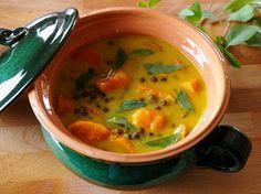 zadanie - gotowanie: Wegańskie curry z batatów i soczewicy.