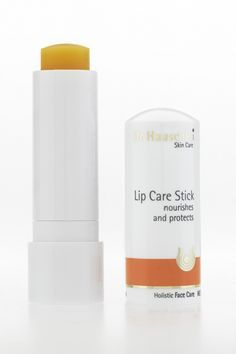 Dr Hauschka's lip care stick one of my favorite lip balms...it will soothe seriously chapped lips, smells nice and somehow enhances the natural color of my lips and leaves them glossy and kissable.