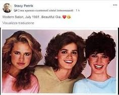 Gia Carangi, Beach Blonde, Supermodels, Salons, Modern, Beautiful, Style, Swag, Lounges
