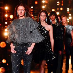 Walking into Friday night like @gigihadid for @isabelmarant   Getty Images  via INSTYLE AUSTRALIA MAGAZINE OFFICIAL INSTAGRAM - Fashion Campaigns  Haute Couture  Advertising  Editorial Photography  Magazine Cover Designs  Supermodels  Runway Models