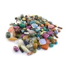 Beads A Large Assortment Of Jasper and Agate Beads by CinLynnBeads, $5.00