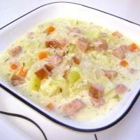 Creamy Sauerkraut Kielbasa Soup Recipe