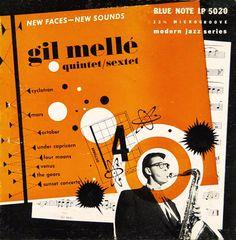 """""""gil melle quintet / sextet"""" 1953"""