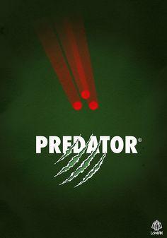 #Predator Minimalist #Poster  http://parallelgameworld.tumblr.com