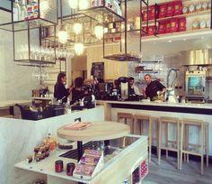La Gazetta - Italian restaurant near Louise: Gazzetta is een Italiaanse  bar waar je terecht kunt voor ontbijt en koffie rechtstreeks uit Milaan. Instant-vakantiegevoel verzekerd.Langehaagstraat 12 1000 Brussel - 02 513 92 13