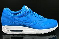 promo code 50236 83b19 Nike Air Max 1 Heren Sneakers Azuurblauw Wit,POPULAR COLOR! Nike Air Max